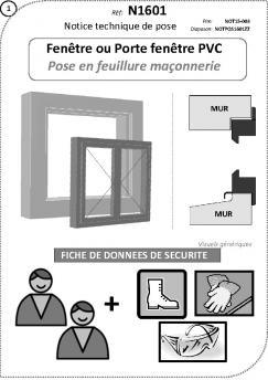 Fenêtre Ou Porte Fenêtre Pvc Pose En Tunnel Lapeyre