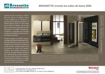 Brossette Invente Les Salles De Bains 2009 Documentation