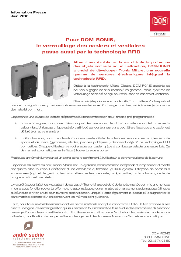 http://www.andresudrie.com/wp-content/uploads/2016/06/DomRonis_Tronic_mifare.pdf