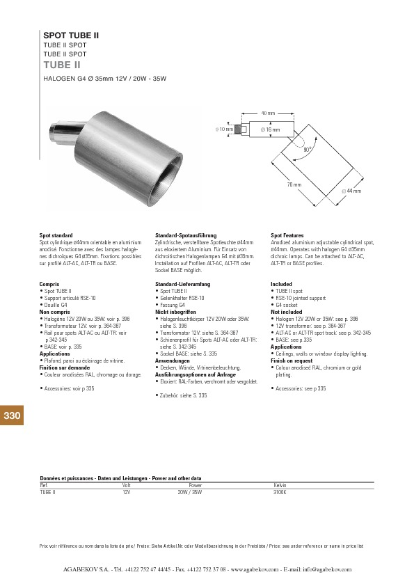 http://www.agabekov-lighting.com/upload/products/pdfs/TUBE_II.pdf