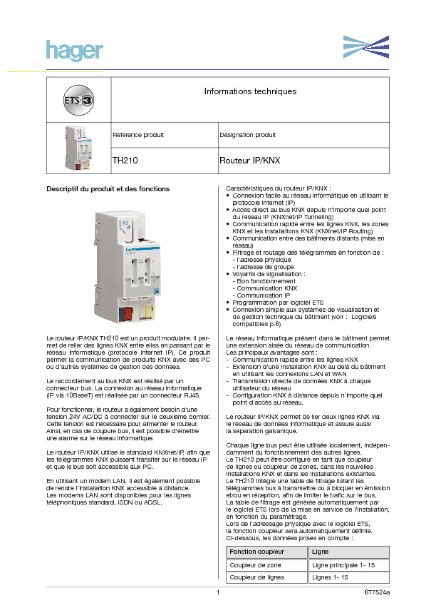 http://www.hager.fr/files/download/0/8817_1/0/XP1_TH210_6T7524A_FR_TPI.PDF