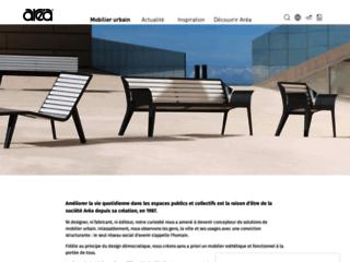 Aperçu du site http://www.area.fr/