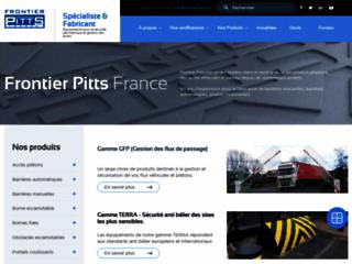 Aperçu du site http://www.frontier-pitts.fr/