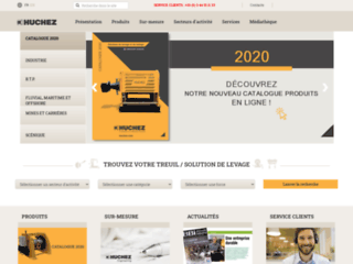 Aperçu du site http://www.huchez.fr/