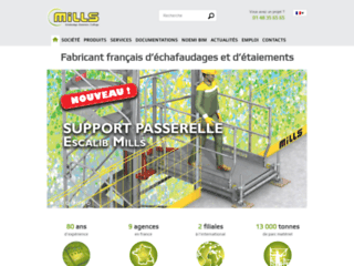 Aperçu du site http://www.mills.fr/