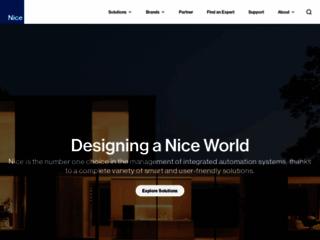 Aperçu du site http://www.niceforyou.com/