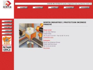 Aperçu du site http://www.serpib.fr/