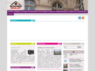 Aperçu du site http://www.souchier.fr/