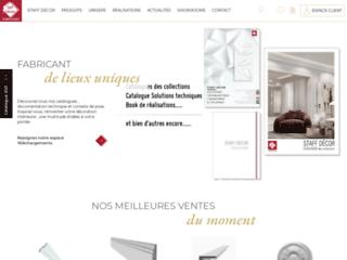 Aperçu du site http://www.staffdecor.fr/