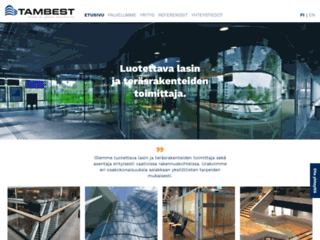 Aperçu du site http://www.tambest.fi/