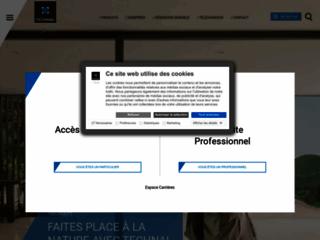 Aperçu du site http://www.technal.fr/