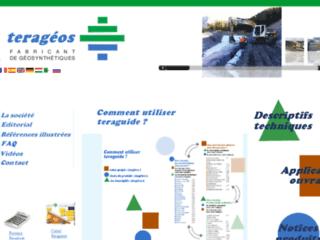Aperçu du site http://www.terageos.com/