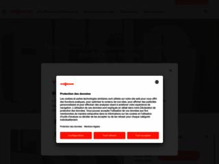 Aperçu du site http://www.viessmann.fr/