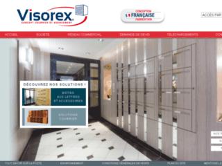 Aperçu du site http://www.visorex.fr/