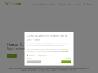 Aperçu du site http://www.wilkhahn.com/