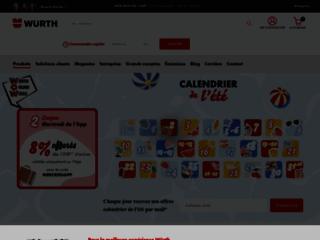 Aperçu du site http://www.wurth.fr/